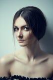 Gorgeous brunette portrait Stock Image