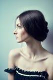 Gorgeous brunette portrait Royalty Free Stock Photos
