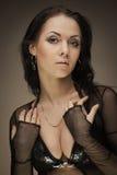 Gorgeous brunette woman Royalty Free Stock Photos