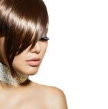 Gorgeous brunette woman portrait Royalty Free Stock Photo