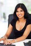 Gorgeous businesswoman typing Royalty Free Stock Photo