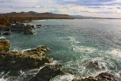 Gorgeous californian seascape Stock Image