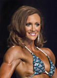 Gorgeous Canadian Figure Competitor Stock Photos