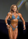 Gorgeous Canadian Figure Competitor Royalty Free Stock Image