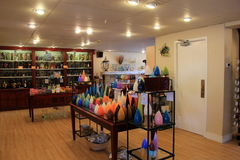 Gorgeous candles and oils seen at Kitchen Kettle Village, By Candlelight, Pennsylvania, 2016. One of many stores inside Kitchen Kettle Village, By Candlelight Stock Image
