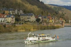Heidelberg cityscape, Germany royalty free stock image