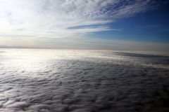 Gorgeous clouds Stock Images