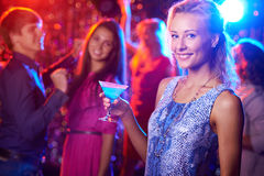Gorgeous clubber Royalty Free Stock Photo