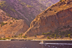 Gorgeous coastline of the Crete island Royalty Free Stock Photo