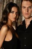 Gorgeous couple stock photos