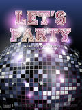 Gorgeous dance party poster design Royalty Free Stock Photo