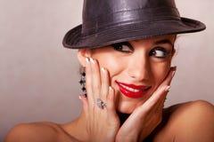 Gorgeous ethnic girl beauty shot Royalty Free Stock Image