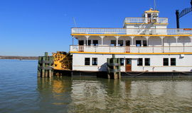 Gorgeous example of old, working steamboat, Cherry Blossom, Old Alexandria,Virginia,2015 Royalty Free Stock Photography