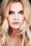 Gorgeous Fashion Model With Blonde Hair. Woman Stock Photography