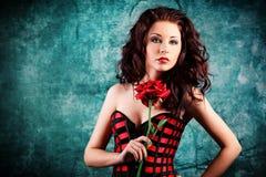 Gorgeous female Royalty Free Stock Photos