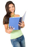 Gorgeous female student Stock Photo