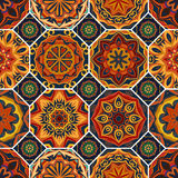 Gorgeous floral tile design. Royalty Free Stock Images