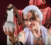 Gorgeous Fortune Teller Stock Photo