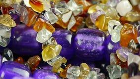 Gorgeous gemstones jewelry. Gh2_01907 stock video