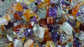 Gorgeous gemstones jewelry. Gh2_01927 stock video