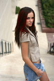 Gorgeous girl,. With amazing look Stock Photography
