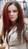 Gorgeous girl,. With amazing look Stock Image