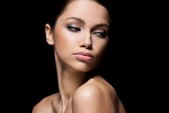 Gorgeous girl with beautiful face Stock Images