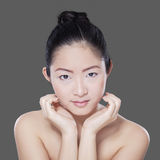 Gorgeous girl with beautiful skin Royalty Free Stock Image