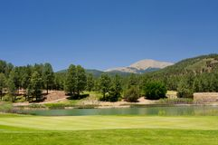 Gorgeous golf course in Arizona Royalty Free Stock Photography