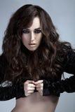 Gorgeous hair stock image