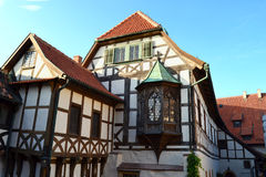 Gorgeous Half-Timbered Building in Germany Royalty Free Stock Photo