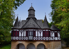 Amazing Half-Timbered Building in Germany Stock Photography