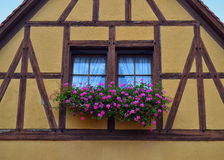 Gorgeous Half-Timbered House in Germany Royalty Free Stock Photo