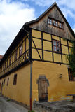 Gorgeous Half-Timbered House in Germany. Gorgeously crafted half-timbered house in Thueringen, Germany Stock Photos