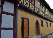 Gorgeous Half-Timbered House in Germany. Gorgeously crafted half-timbered house in Thueringen, Germany Royalty Free Stock Images