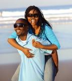 Gorgeous happy couple royalty free stock photo