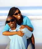 Gorgeous happy couple stock photos