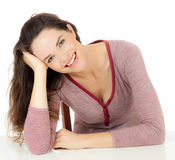 Gorgeous happy young woman Royalty Free Stock Photo