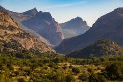 Gorgeous hills views Stock Image
