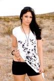 Gorgeous Hispanic woman. Stock Image
