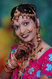 Gorgeous Indian Bride Royalty Free Stock Images