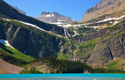 Gorgeous landscape, Glacier National Park, Montana Royalty Free Stock Photography