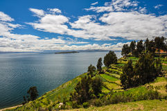 Gorgeous Landscape of Isla del Sol, Bolivia Stock Photography