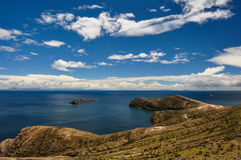 Gorgeous Landscape of Isla del Sol, Bolivia Stock Images