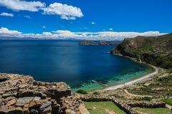 Gorgeous Landscape of Isla del Sol, Bolivia Stock Photos