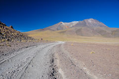 Gorgeous landscapes of Sur Lipez, South Bolivia Royalty Free Stock Images