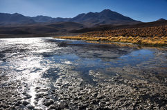 Gorgeous landscapes of Sur Lipez, South Bolivia Royalty Free Stock Photo