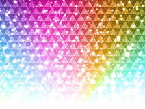 Gorgeous light background. Background of gorgeous rainbow color light Royalty Free Stock Photography