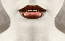 Gorgeous lips Royalty Free Stock Image