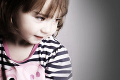 Gorgeous little girl Royalty Free Stock Images